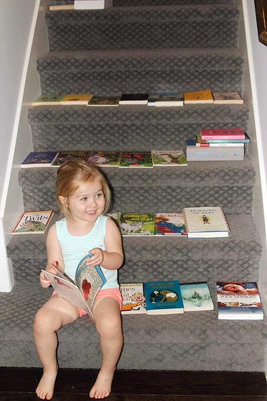 Playing bookstore