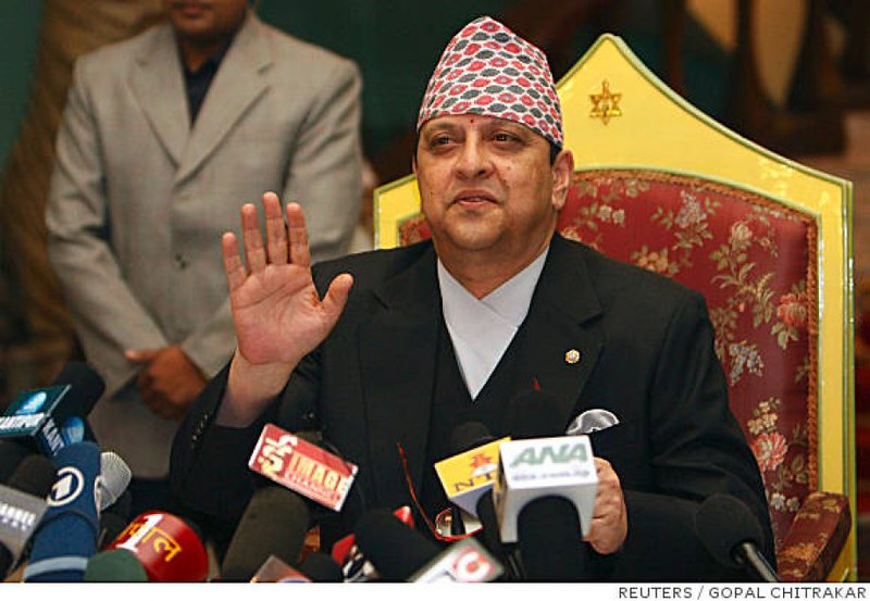 Gyanendra of Nepal, the last King of Nepal