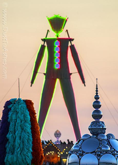 Burning Man 2015 Compound Eye I by Kirsten Bert