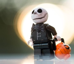 Inspiration -read my lastest post on www.stuckinplastic.com it's about how the weather has an influense on my inspiration. #lego #jack_skellington by @krash_override #halloween