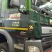 Graphics to an 8 wheeler DAF truck