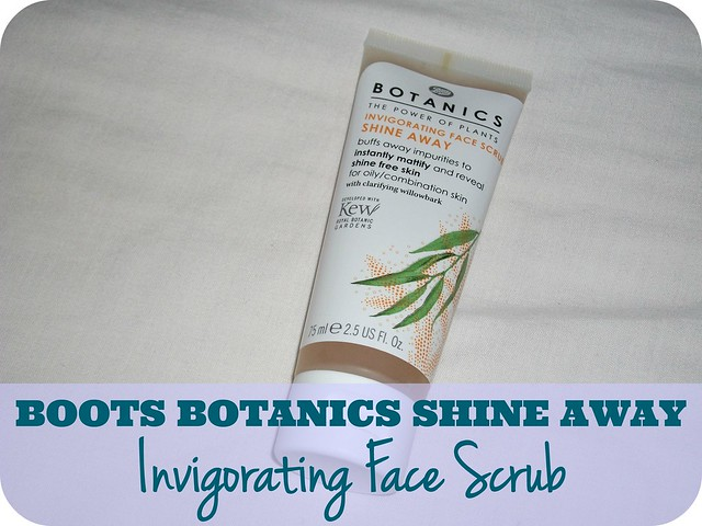 Boots Botanics Shine Away Invigorating Face Scrub Review