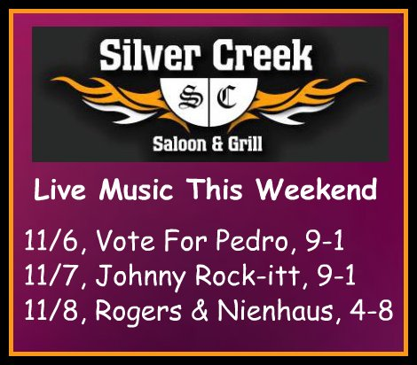 Silver Creek Poster 11-6-15