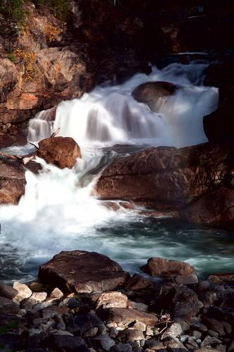 rainbow waterfalls shuswap shuswapriver