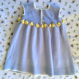 Rose and Lace Toddler Dress