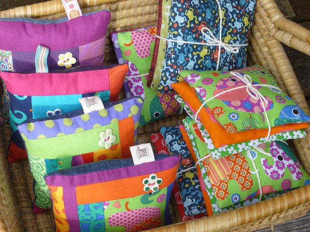 Pin cushions and lavender bags