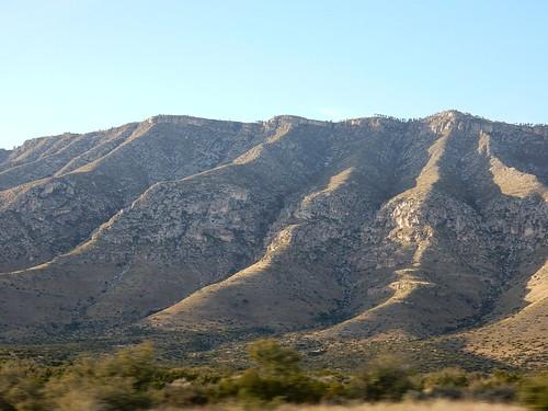 Texas - onderweg naar Guadalupe Mountains National Park - 3