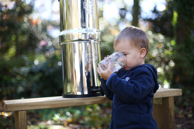 Why we love our Berkey Water Filter and how it saves us money in the long run.