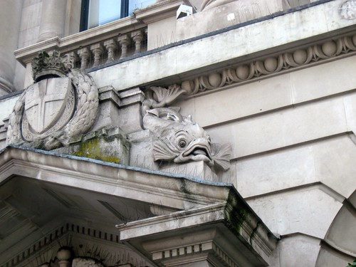 Fish Detail at No 16 Waterloo Place