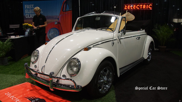 1965 Volkswagen electric by Zelectric Motors at LA Auto Show 2015