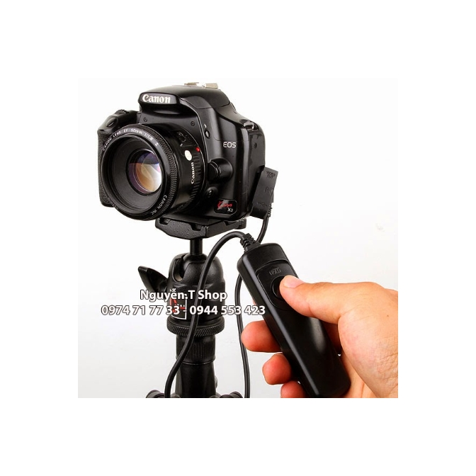 Dây bấm mềm phơi sáng Canon Nikon MC-DC2  - RS80N3 - RS60E3