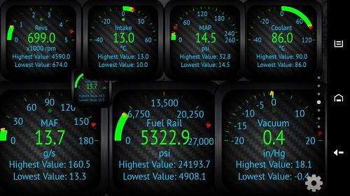 Engine: D5: - Engine System Service Required – Dash Error