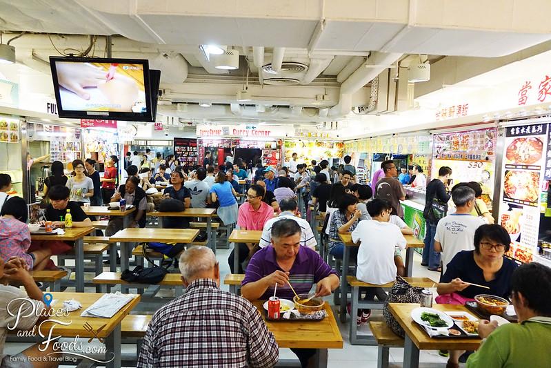 dragon centre food court overview shot