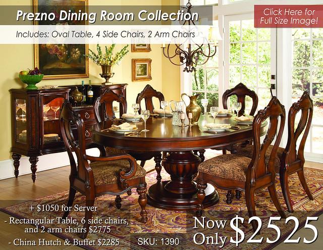 Prezno Dining Set