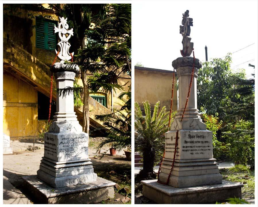 Nabadebalaya - Grave of Keshab Chandra Sen - Brahmo Cemetery, Kolkata, India