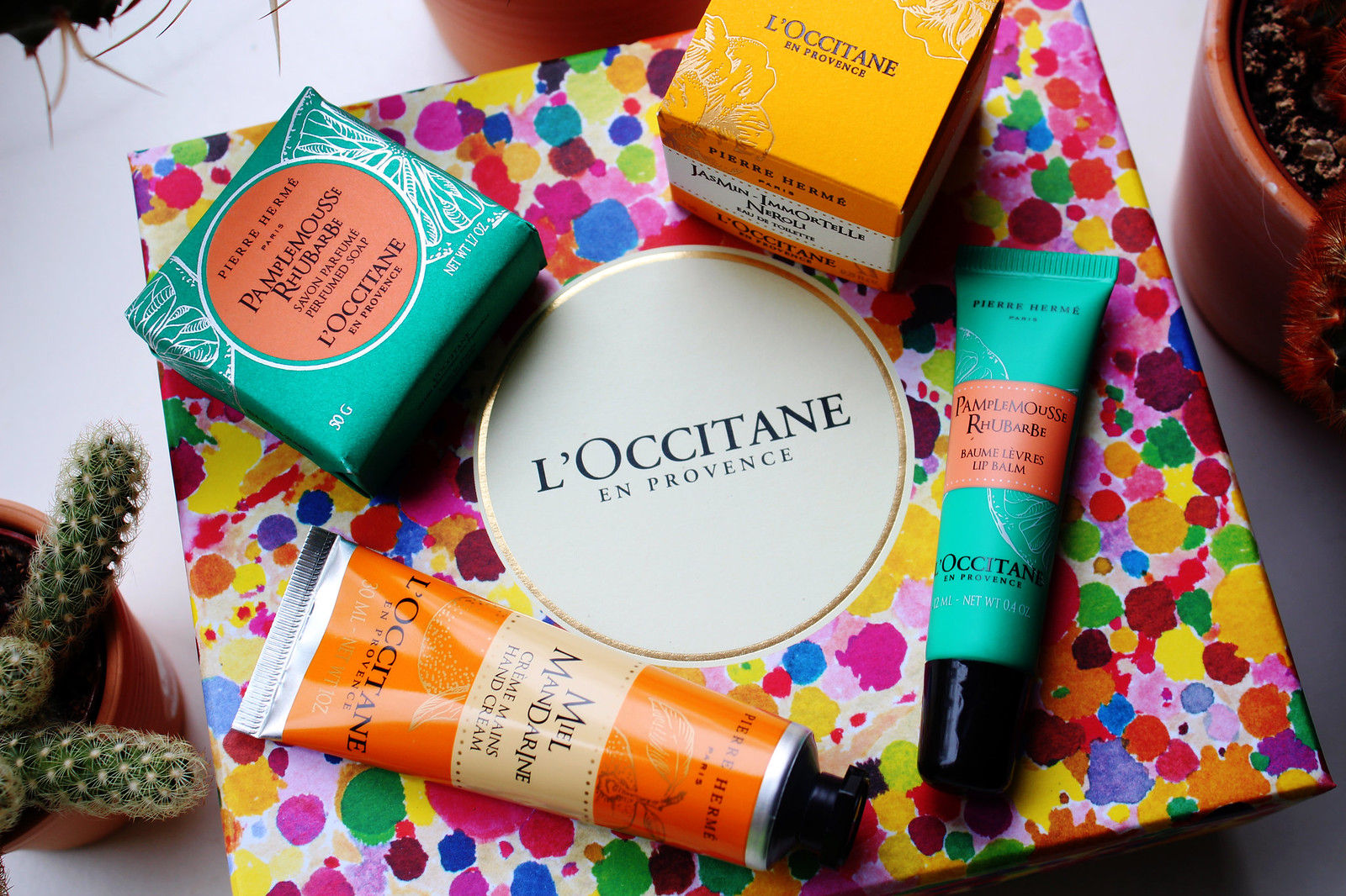 Loccitane news rhubarb collection