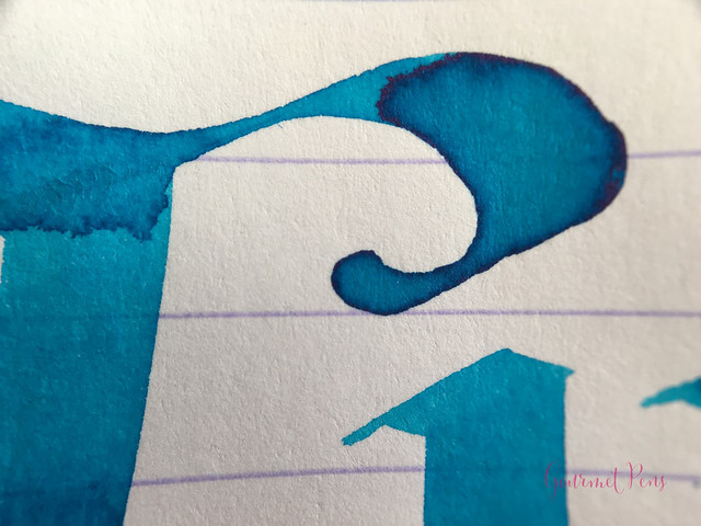 Ink Shot Review Montegrappa Turquoise Ink @GouletPens @TheMontegrappa (7)