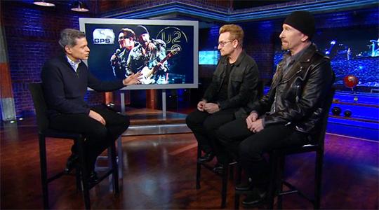 "Bono & Edge on CNN's ""Fareed Zakaria, GPS"""