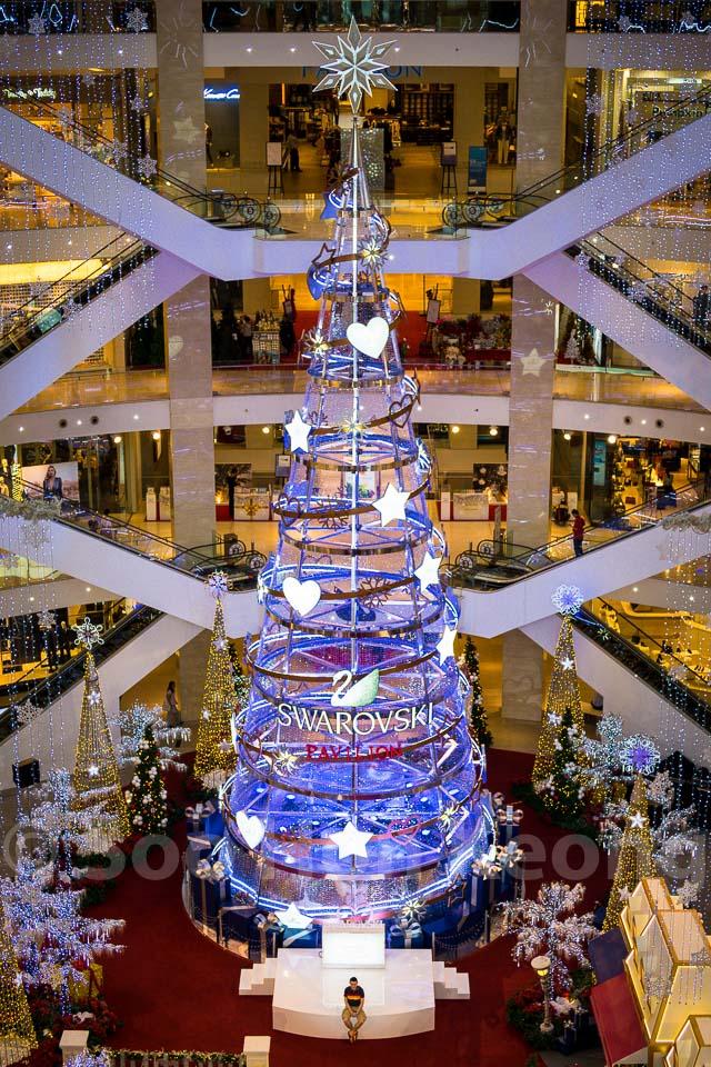 Tallest Swarovski Tree In Asia @ Kuala Lumpur, Malaysia