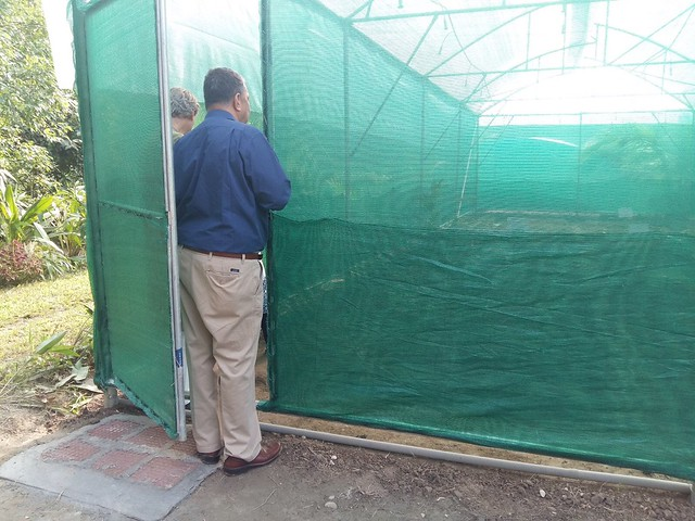 A view on the newly constructed Green House