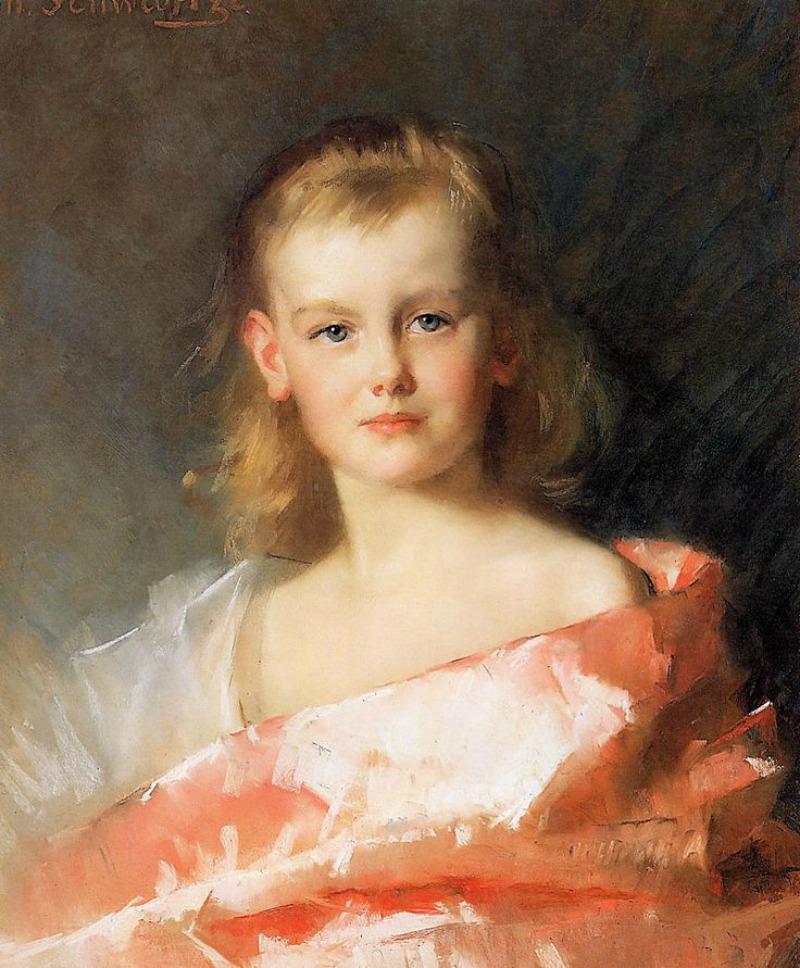 Portrait of Princess Wilhelmina, 1887
