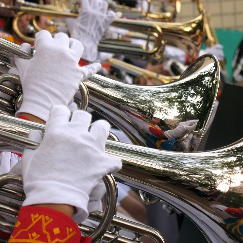 Image of High School Trumpeters