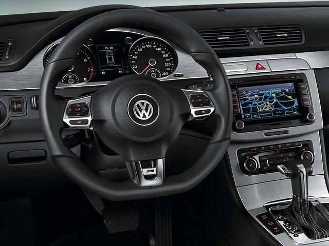 Салон Volkswagen Passat CC R-Line. 2009 – 2012 годы