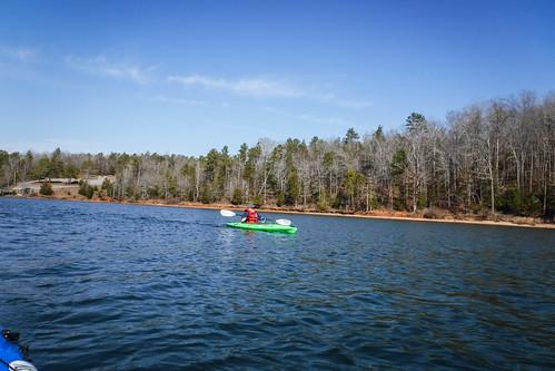 iva kayaking lakerussell moffitsville paddling southcarolina unitedstates us