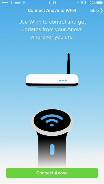 Anova Wi-Fi iOS App - Wi-Fi Setup #1