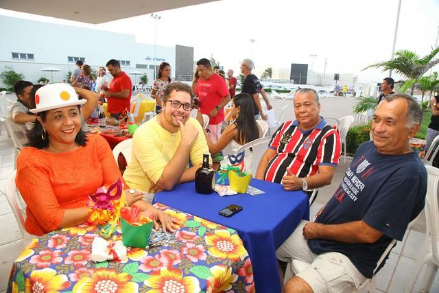 I Baile carnavalesco da AMMA em parceria com Humasol é sucesso