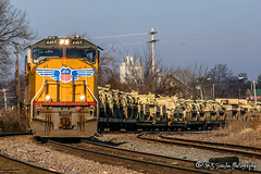 UP 4469 | EMD SD70M | NS Memphis District