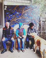 #myfamily #fergzuke #paganamous #daisukemizouchi #sueandalan #ferguson #scottbradleyferguson #theart #muralart #scottbradleyferguson @powwowworldwide