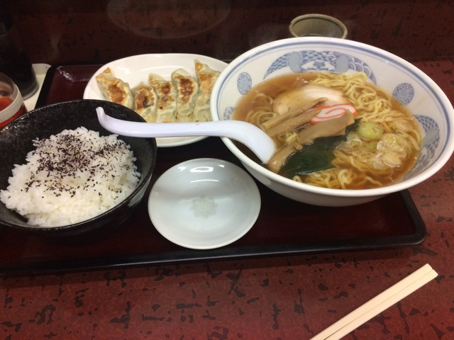 "The Chinese restaurant ""HAPPOU"""