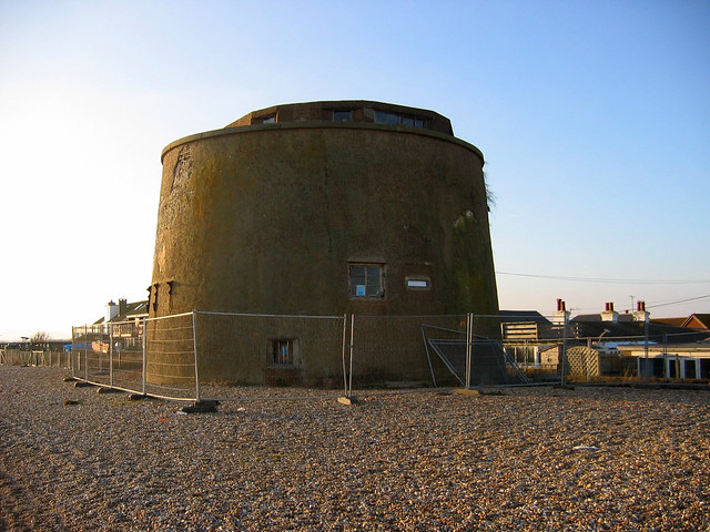 Martello Tower at Normans Bay