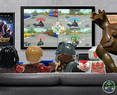 Mario Kart 8 Deluxe with the Guardians of the Galaxy!