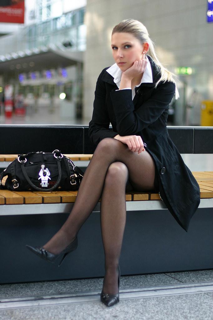 women pantyhose high heels Business