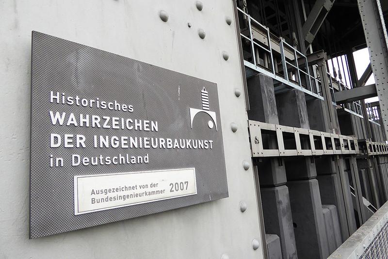 Schiffshebewerk Niederfinow Historisches Wahrzeichen der Ingenieurbaukunst in Deutschland