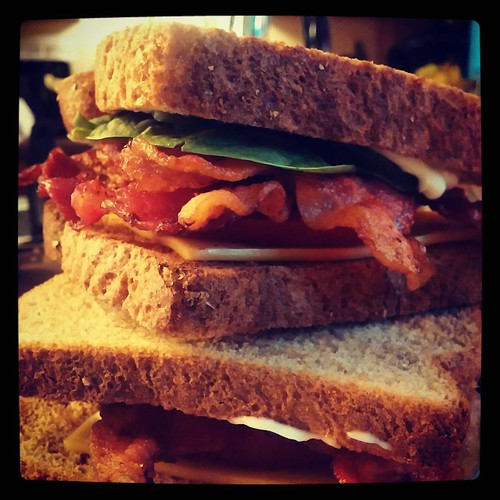 @genma5's BLTs are what's for dinner tonight! Yum!