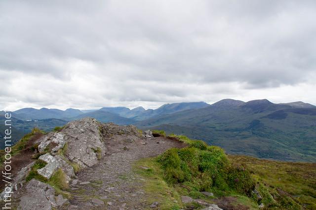 Aussicht Torc Mountain