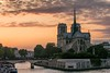 Notre-Dame au soleil couchant by Nico7895