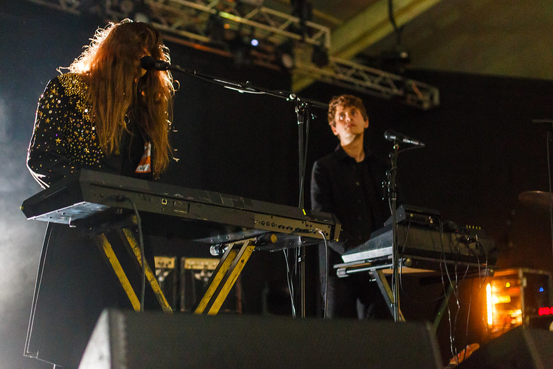 Beach House at the Windjammer Festival at Pier Six Pavilion on August 29th, 2015