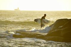 Early morning surfer @Yamba