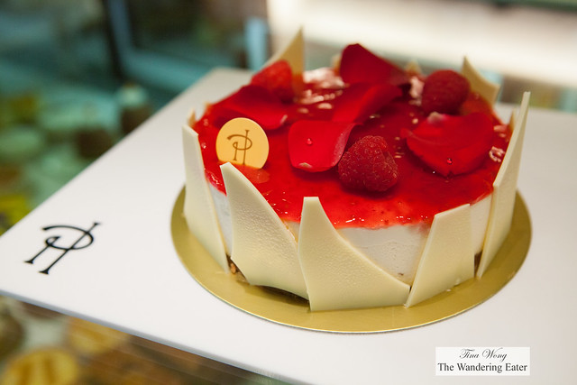 Ispahan Cheesecake