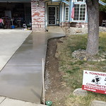 Driveway Widened And New Front Walkway In Vacaville