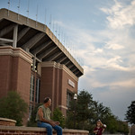 Evening at Kyle Field