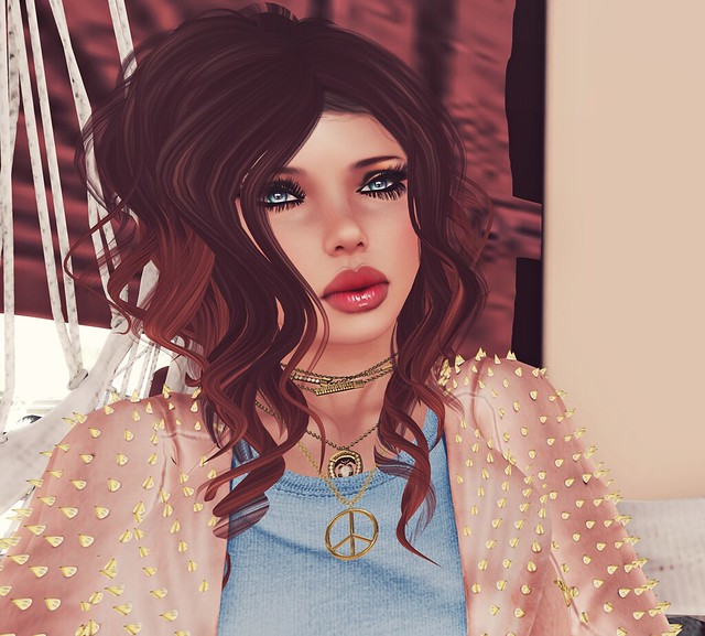 Look of the day featuring Gizza & Truth Hair- Second Life