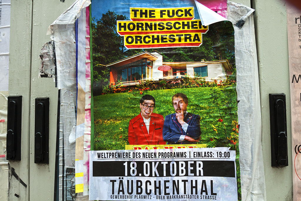 THE FUCK HORNISSCHEN ORCHESTRA poster--Leipzig