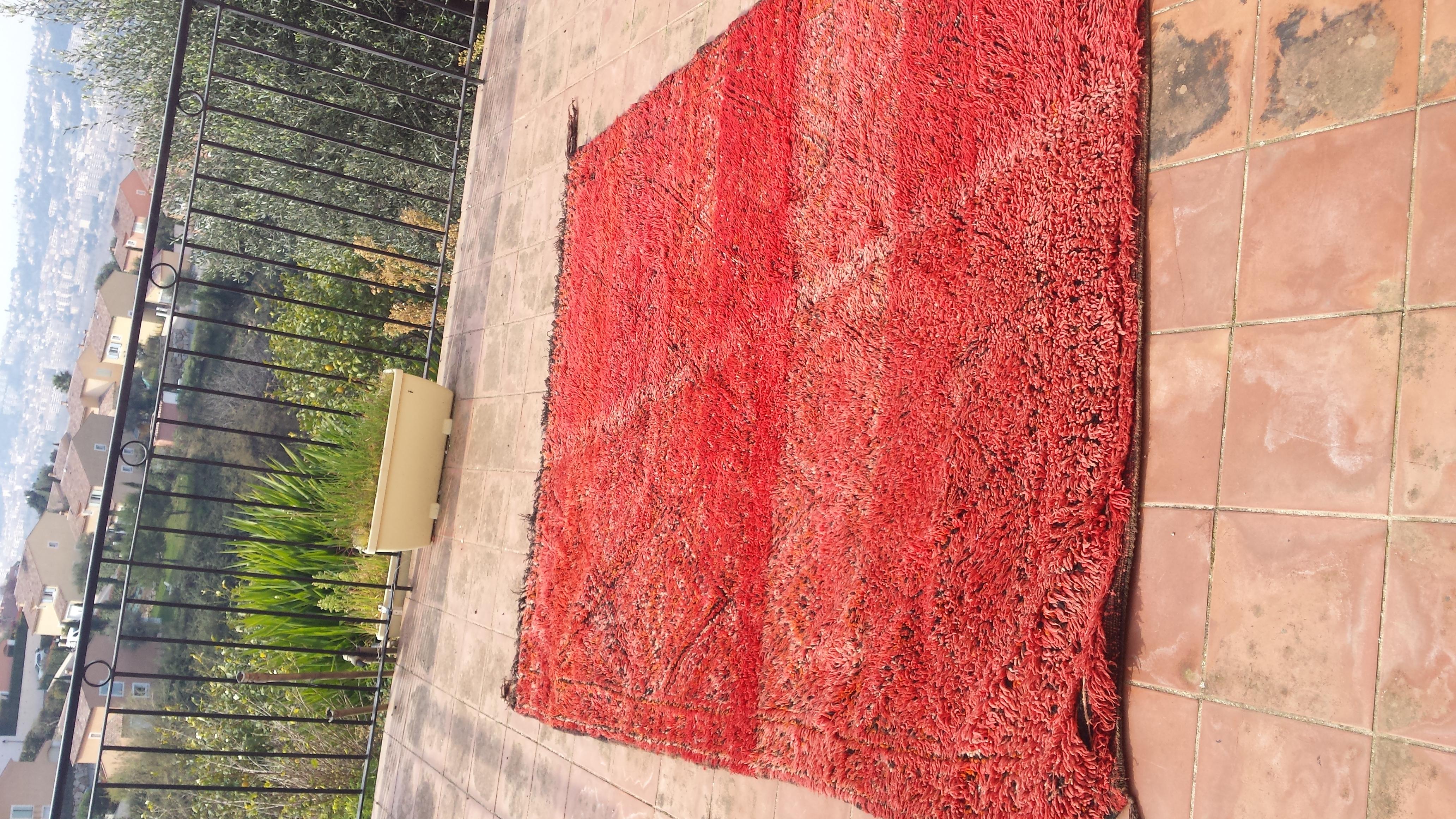 grand tapis zayane rouge ebay. Black Bedroom Furniture Sets. Home Design Ideas