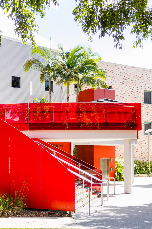 red brisbane music building