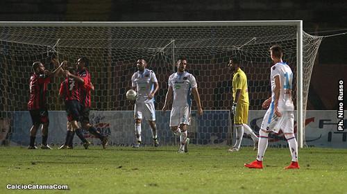 Casertana-Catania 2-0 Cronaca e Tabellino